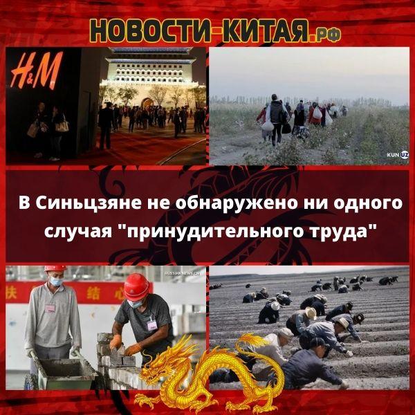"""В Синьцзяне не обнаружено ни одного случая """"принудительного труда"""""""